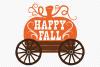 Happy Fall SVG, Cut File, Fall Shirt Design, Pumpkin Harvest example image 2