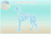 Greyhound Mandala Zentangle Bundle SVG Eps Png PDF example image 2