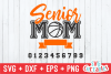 Senior Mom Basketball | svg Cut File example image 2