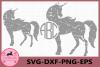 Unicorn Grunge svg, Unicorn Distressed, Unicorn Vector example image 1