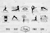 Namaste Bundle - A Collection Of Yoga SVGs example image 1
