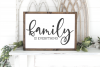Family - Welcome - Home - Doormat - Sign Making Bundle SVG example image 10