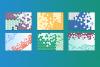 Abstract Hexagonal Backgrounds example image 3