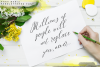 Anna Maria - Handlettered font example image 3