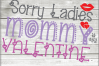 Sorry Ladies Svg - Mommy is my valentine svg - Baby Shower example image 1