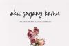 Krispy Panda - Lovely Handrawn Font example image 8
