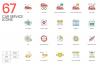 1266 Icons - colorPOP Vector Bundle example image 4