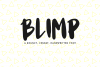 Blimp - A Bouncy, Chubby, Handwritten Font example image 1