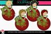 Christmas Ornament Girl example image 2