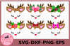 Little Deer svg, Deer with eyelashes, Baby svg, Birthday example image 1