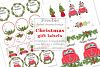 Christmas Gift Stickers Freebie Tags Cards Free DIY example image 1