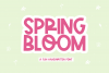 Spring Bloom - A Fun Handwritten Font example image 1