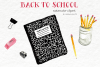 Watercolor Clip Art - Back to School example image 2