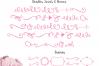 Sugar Plums Script + Doodles example image 6