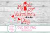 1st Valentine's Day SVG, Kids Valentine SVG, Kids Love SVG example image 2
