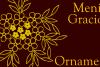 Menina Graciosa Ornaments example image 3