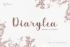 Diarylea Script Font! example image 1