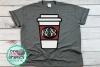 coffee monogram svg,coffee monogram frame svg,coffee svgs example image 1