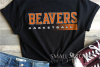 Beaver, Basketball, Sport, Team, Logo, PRINT, CUT, DESIGN example image 1