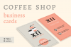 Coffee Shop Business Cards example image 1
