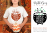 Cauldron, Hocus pocus Halloween SVG / PNG / EPS / DXF files example image 1