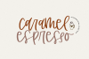 Caramel Espresso - A Quirky Handwritten Font example image 1