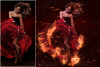 Fire Photoshop Action example image 2