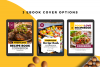 Food Lovers Recipe and Cookbook Canva Template Ebook example image 3