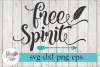 Free Spirit Arrow Feather SVG Cutting Files example image 1
