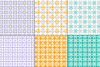 Seamless Pastel Quilt Patterns example image 4