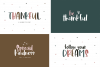Font Bundle - Handwritten Fonts for Crafters! example image 4