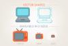 Flat Media Icons example image 2
