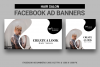Hairs Salon Facebook Ad Banners example image 1