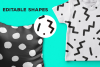Memphis Seamless Patterns example image 2
