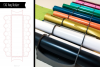 Laser Vinyl Storage SVG example image 1