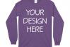 Gildan 5400 Long Sleeve Tshirt Mockups-16 example image 11