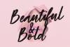 Beauty Rush Font Set example image 8