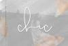 Chic - Handwritten Script Font example image 1