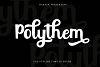 Polythem Bold Classy example image 1