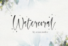 Watercoral // Natural Script Font example image 1