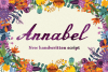 Annabel Script Typeface example image 1