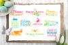 Happy Easter logo set example image 1