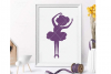 Ballerina svg, little ballerina svg, ballerina cut file example image 1