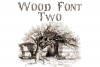 Wood Font Two example image 1