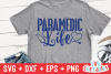 Paramedic / EMT Bundle 1 | SVG Cut File example image 25
