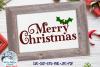 Merry Christmas SVG   Christmas SVG Cut File example image 1