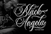 Black Angela - Tattoo Font example image 1