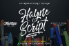 Hayne Script + Sans example image 1