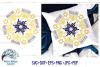 Hanukkah Mandala SVG | Menorah Mandala SVG Cut File example image 1