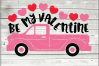 Valentine truck svg - truck SVG - Valentine truck WITH HEART example image 4
